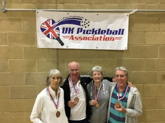 Bronze medal winners at 1st UK International Open Tournament 21-23 October